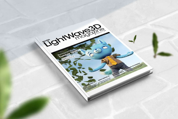 LightWave 3D Magazines - Print and digital issues by Johanna Roussel