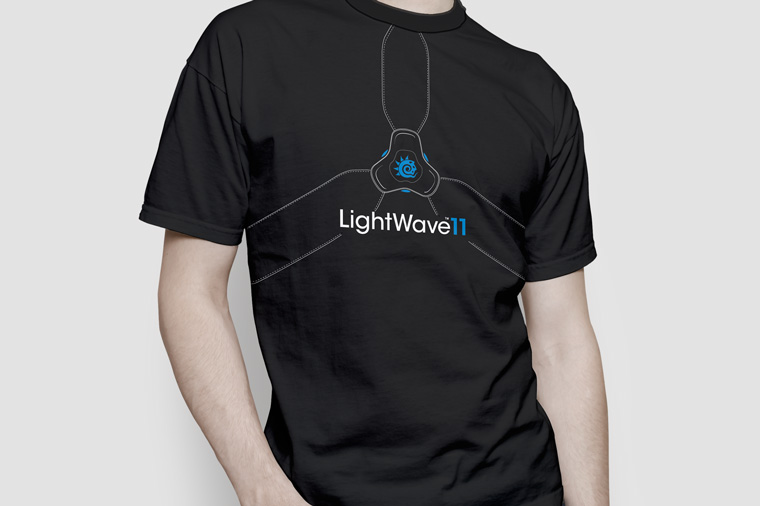 LightWave 3D T-Shirt Collection by Johanna Roussel