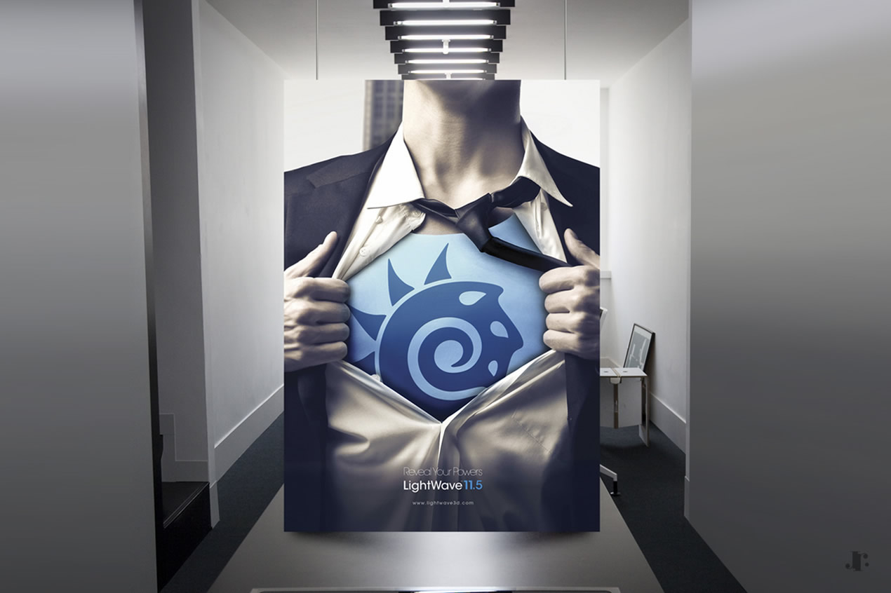 LightWave 3D Campaign: Reveal Your Powers - Print Ad