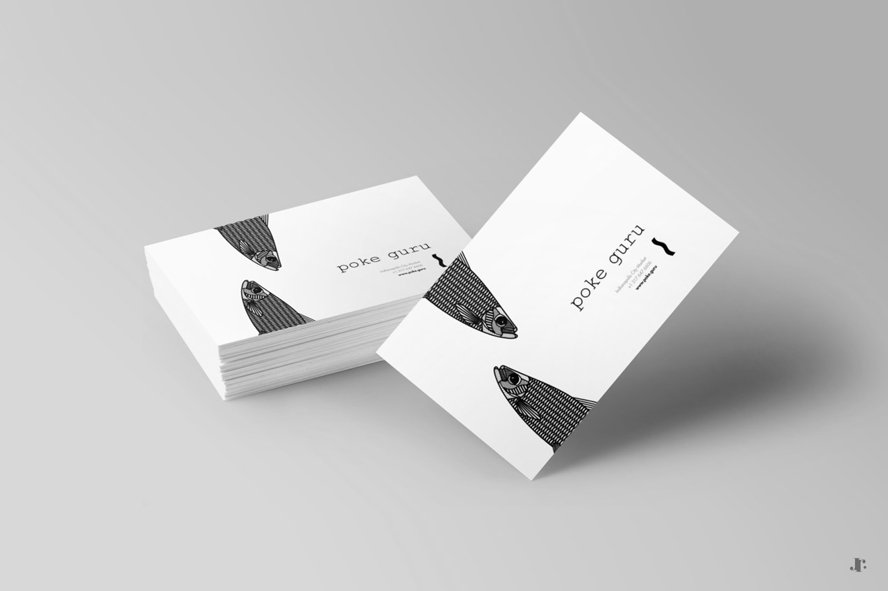 Poke Guru - Business Cards - Johanna Roussel