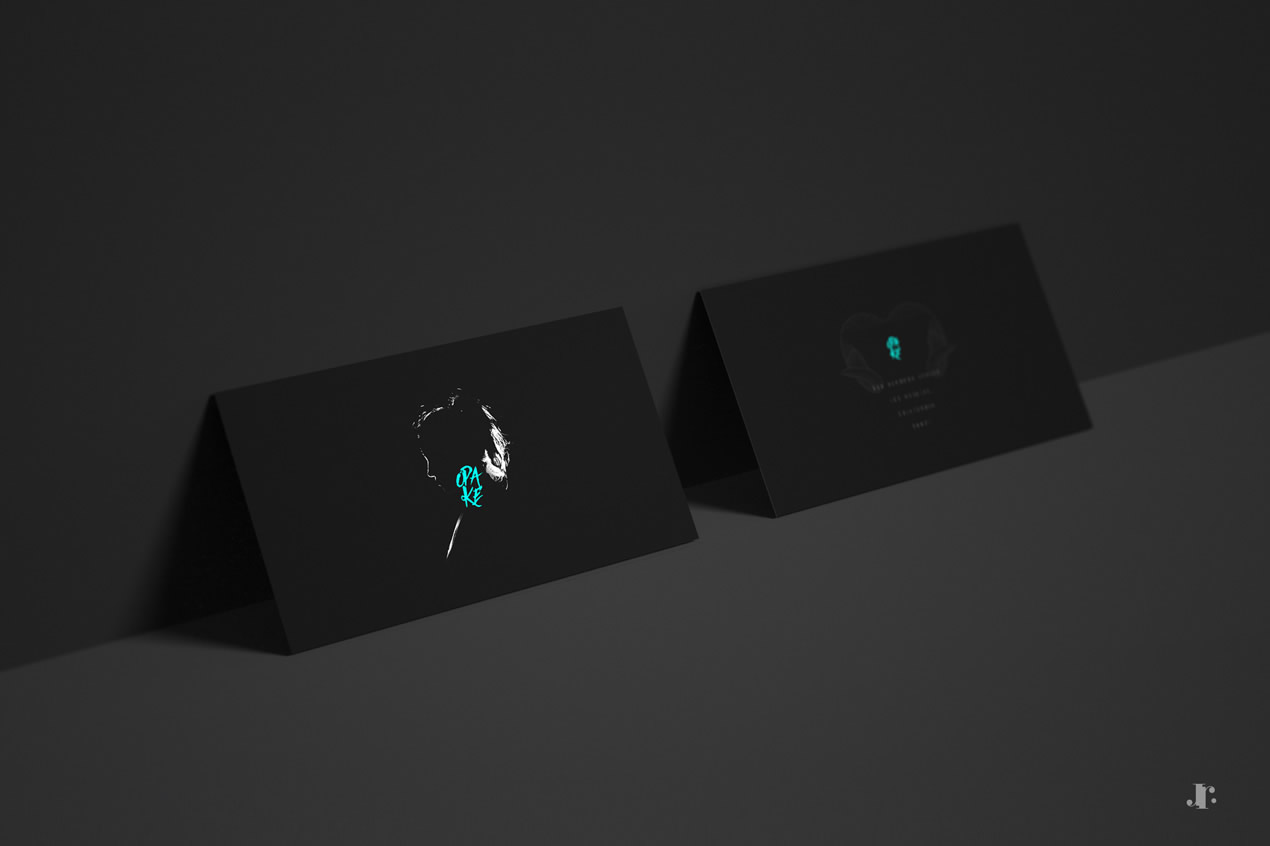 Opake Studio - Branding - Two-Sided Business Cards